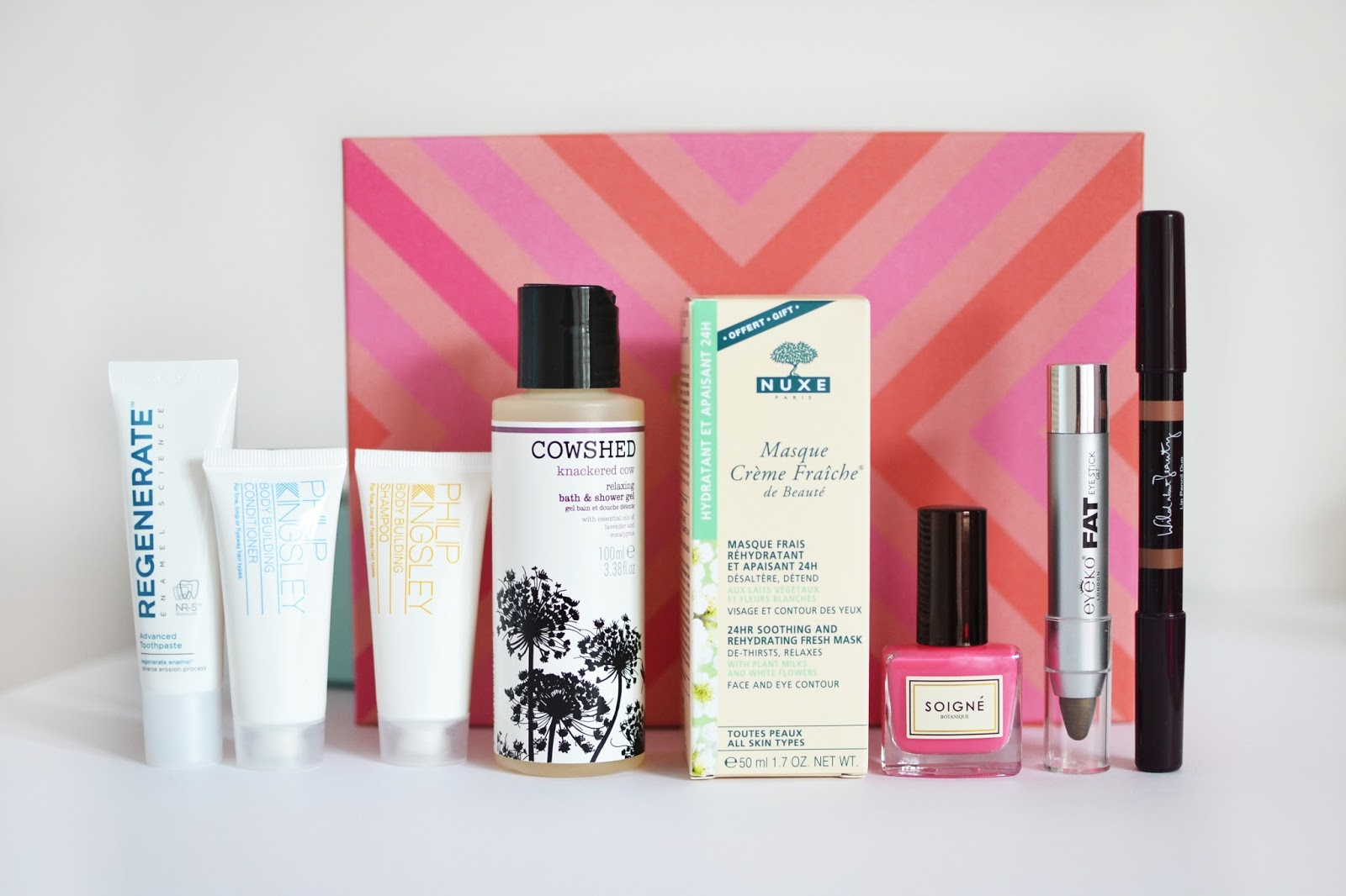 Inside the selfridges birchbox
