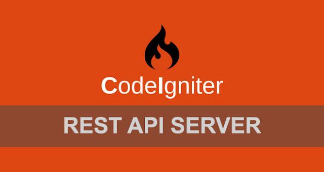 CodeIgniter Rest API