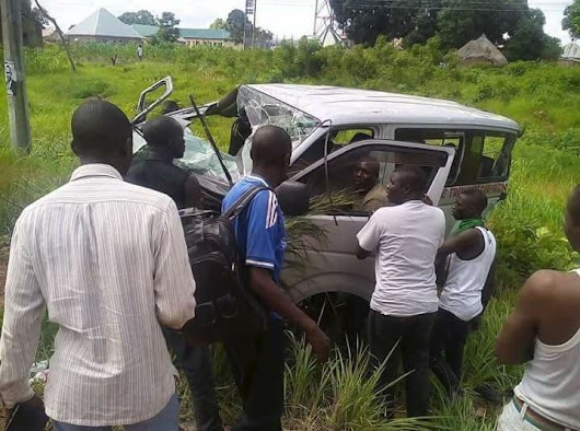 Delegates Involved In Car Accident On Their Way To APC Convention In Abuja