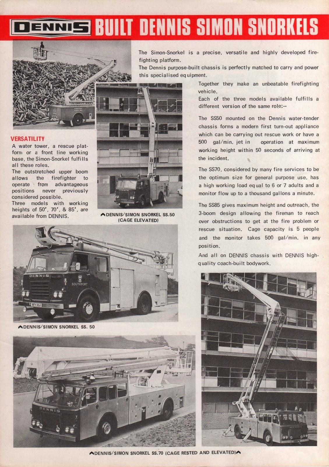 camions de bombers  dennis