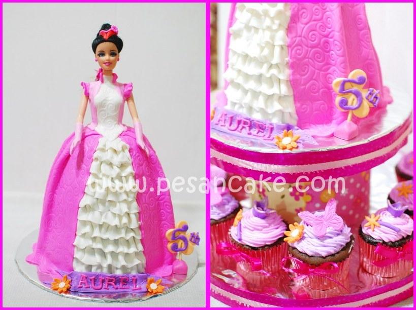 Gambar Barbie The Cake Ideas And Designs