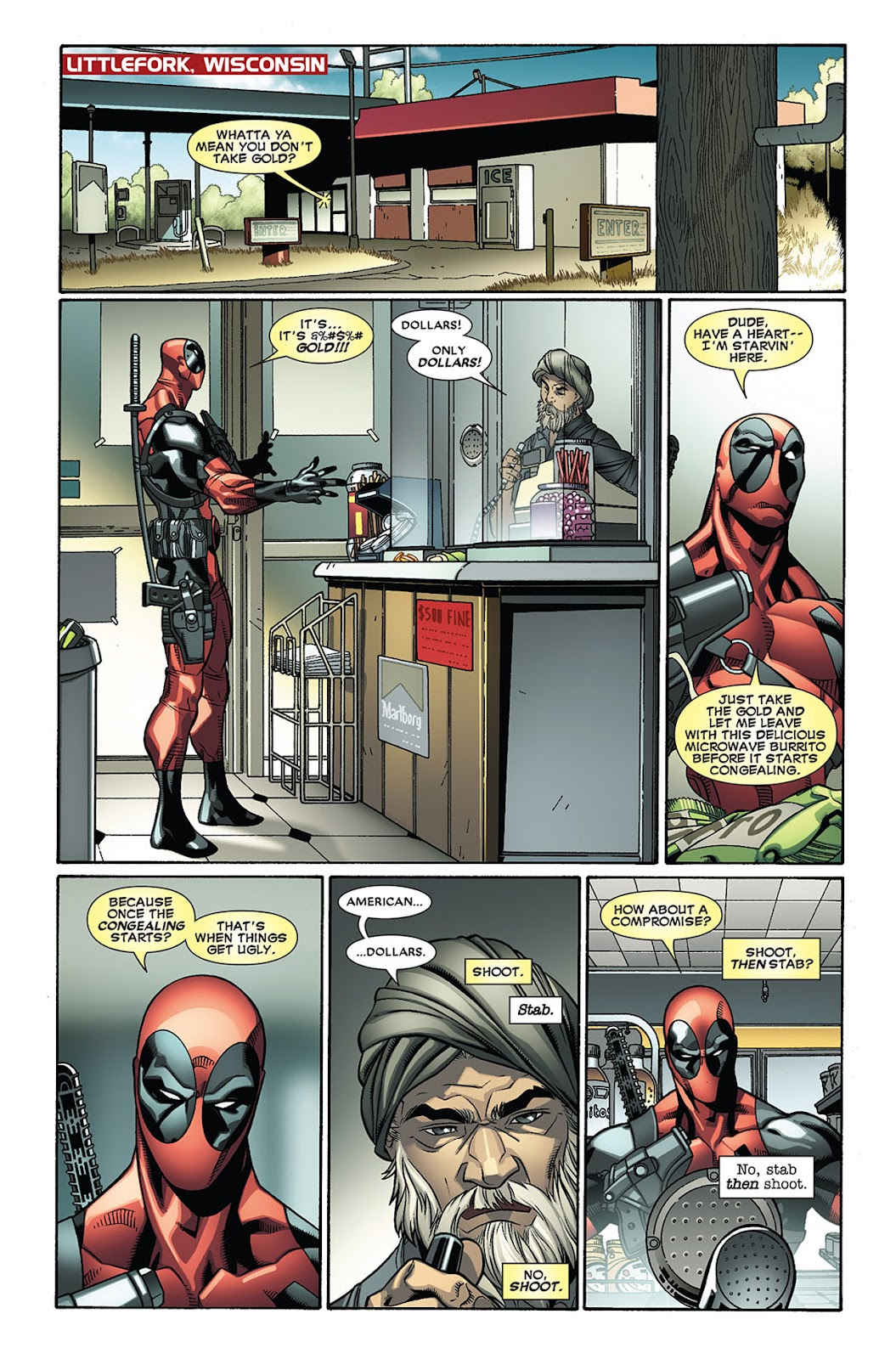 Read online Deadpool (2008) comic -  Issue #27 - 3