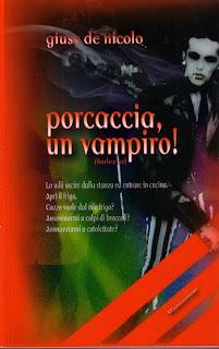 Copertina Porcaccia, un vampiro!, Giusy de Nicolo