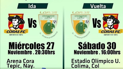 Loros en Cuartos de Final vs Tepic