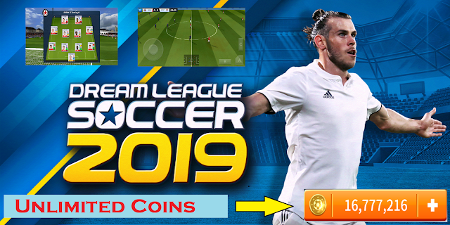 Dream League Soccer 2019 Android APK + OBB Data Unlimited Coins