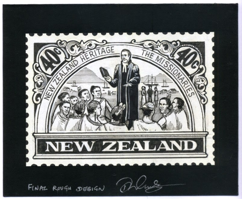 Virtual New Zealand Stamps: 1989 Heritage Set 2 - The People.