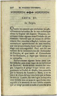 """""""El viagero universal ó Noticia del mundo antiguo y nuevo"""". Tomo 1"""