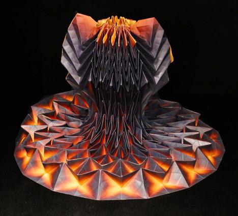 Design Dautore Com Origami Dresses By Jule Waibel