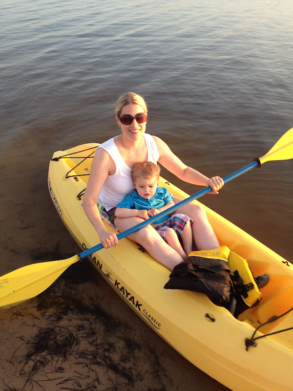 kayak in the Outer Banks