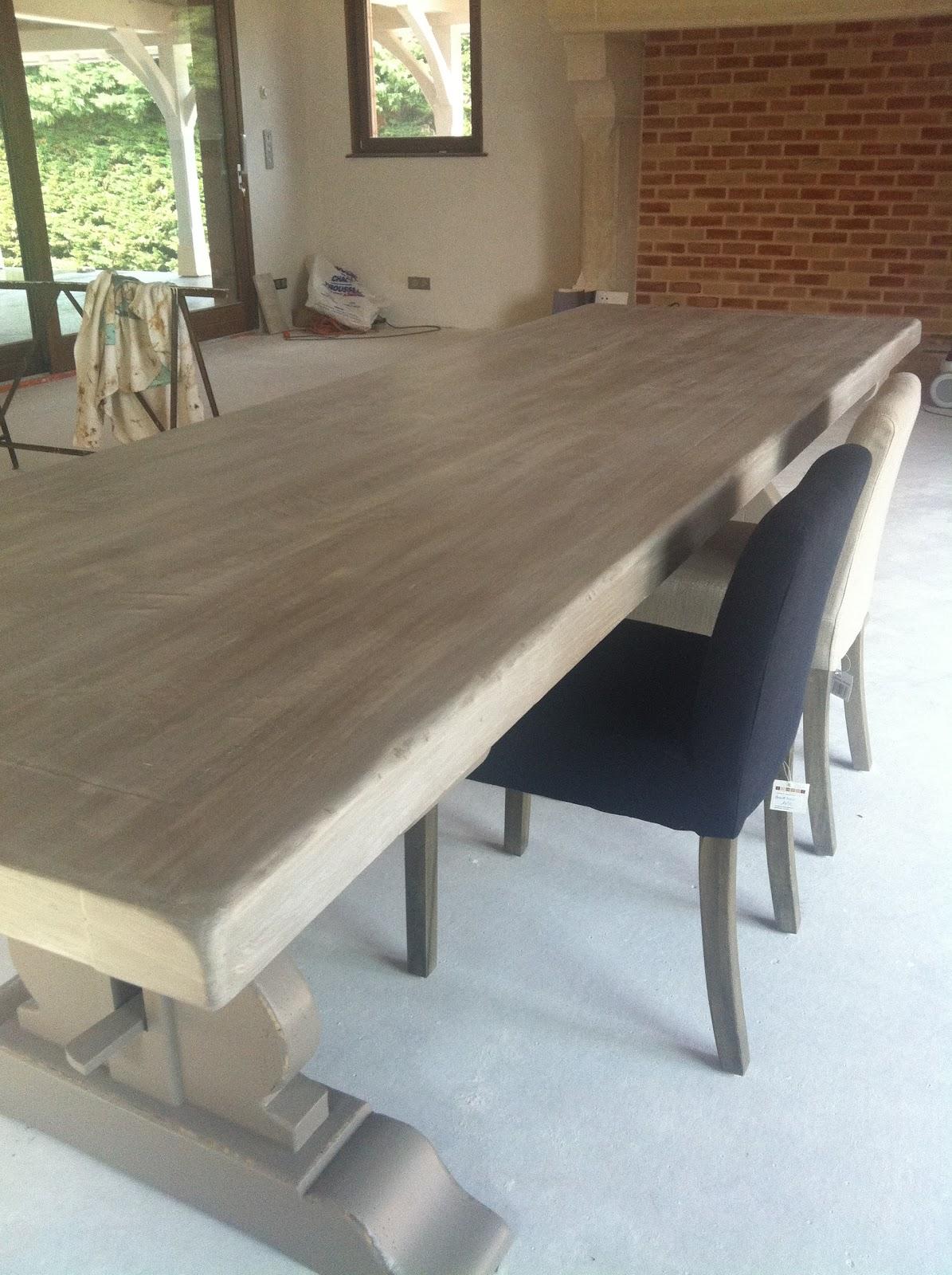 L'atelier des fées relooking table de ferme à buxy, table ...