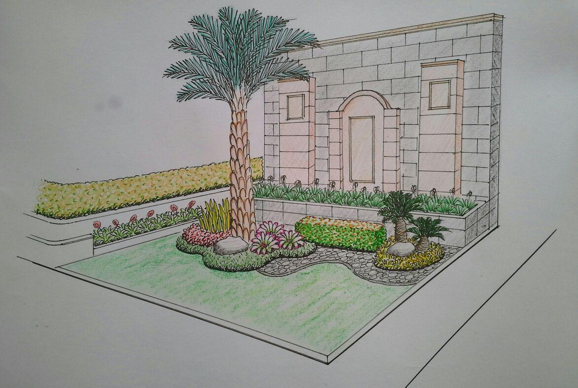 Desain Taman Minimalis Tukang Taman Sidoarjo Salwa Landscape
