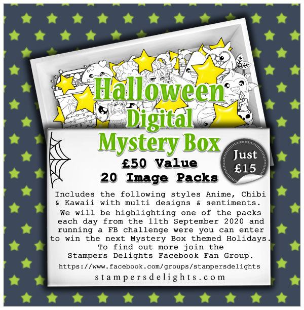 Halloween Digital Mystery Box from Stampers Delights