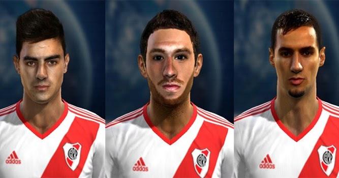 Mini Facepack River Plate Pes 2013