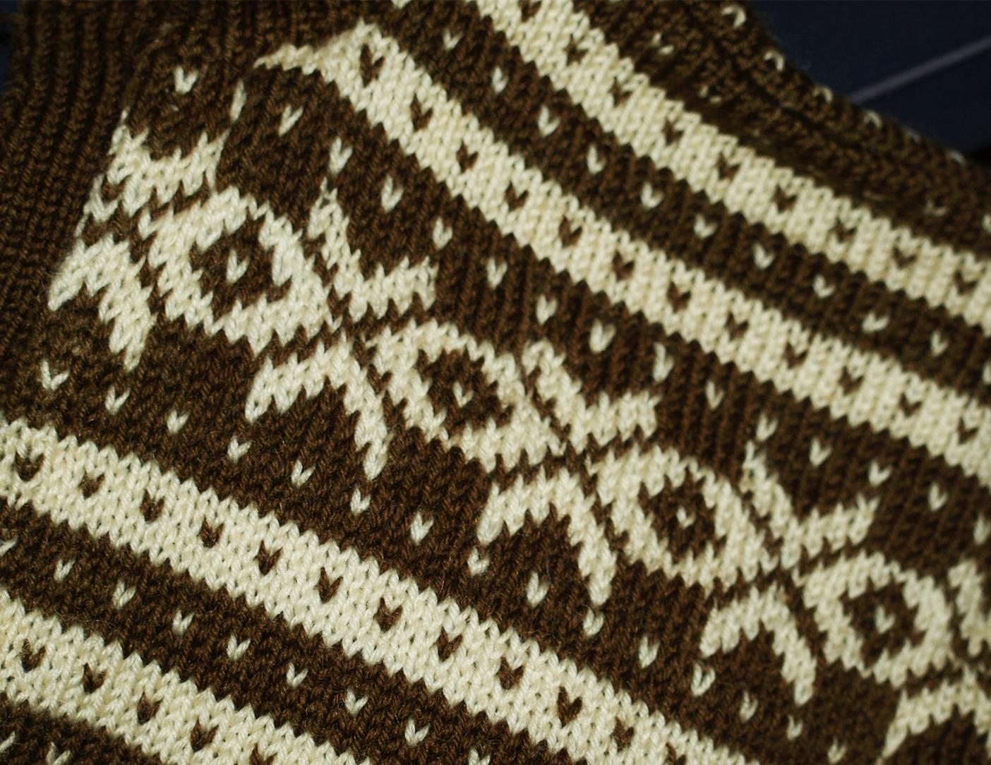 norsk bøsse strikkeoppskrifter menn