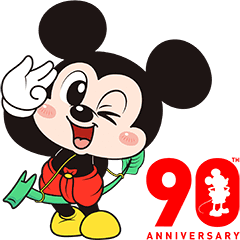 Mickey Mouse 90th Anniversary × Boobib