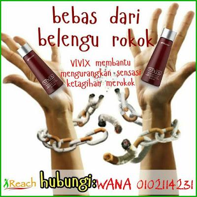 Berhenti Merokok Dengan Vivix Shaklee