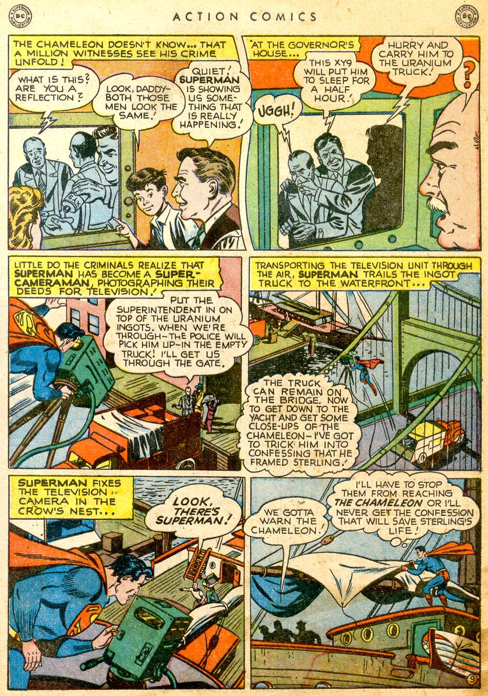 Read online Action Comics (1938) comic -  Issue #126 - 11