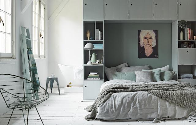 Armario puente para dormitorios pequeños
