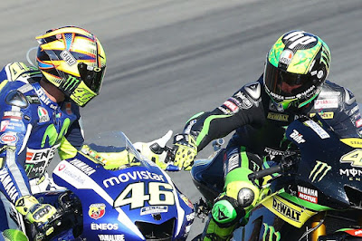 Rossi - Pol Akan Satu Tim di Movistar Yamaha Tahun Depan?