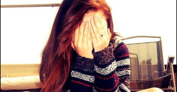 Crying Girl Sad Cute Alone Hand Face