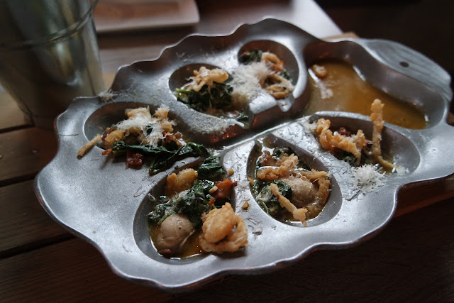 broiled oyster