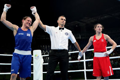 Ireland's Defending Olympic Boxing Champion Katie Taylor Suffers Shock Defeat at Rio