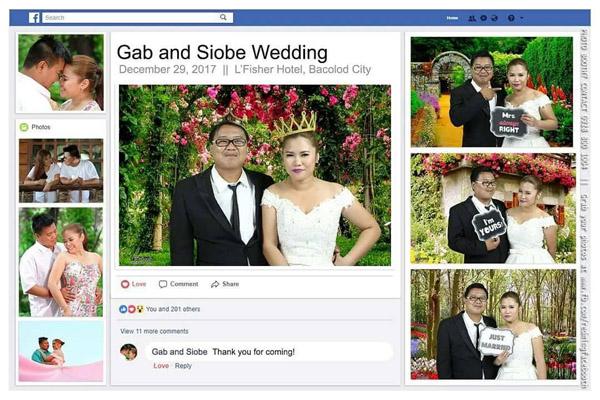 Bacolod wedding suppliers - wedding photobooth