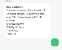 change caller tune by sms confirmation