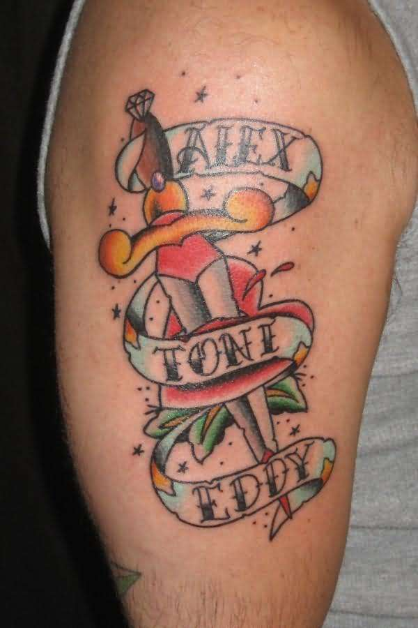 Scroll Banner Tattoo Designs