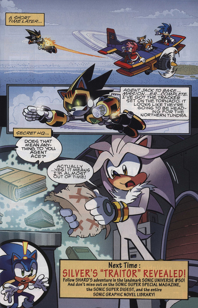 Read online Sonic The Hedgehog comic -  Issue #246 - 31