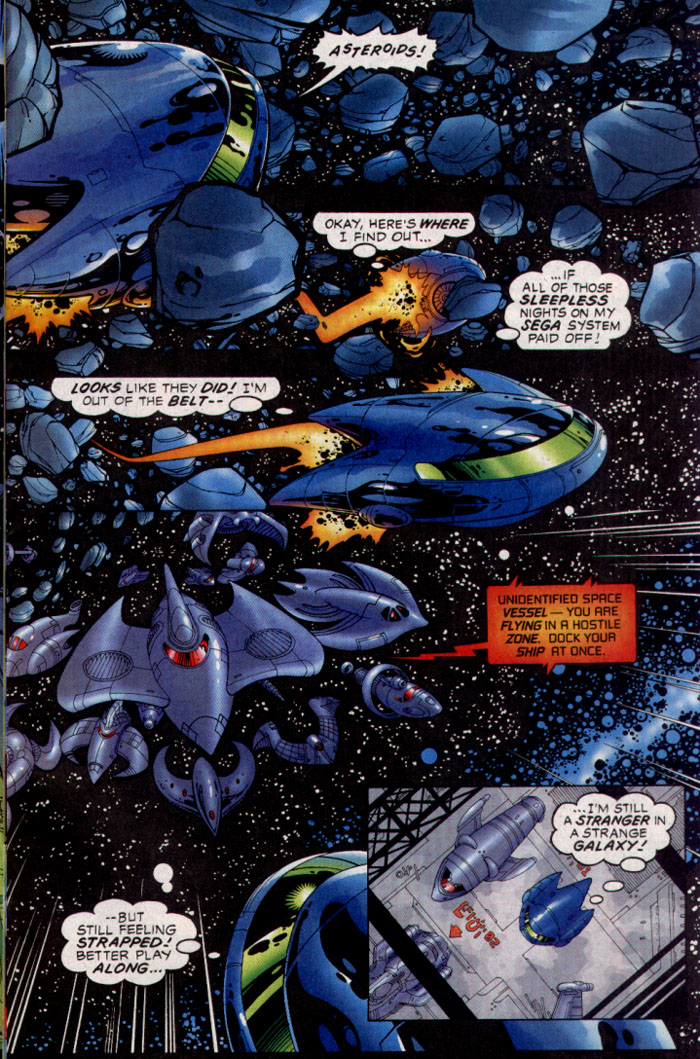 Read online Sonic The Hedgehog comic -  Issue #128 - 4