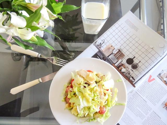 Nopea salaatti lounas, salaatti, salaattibaari,