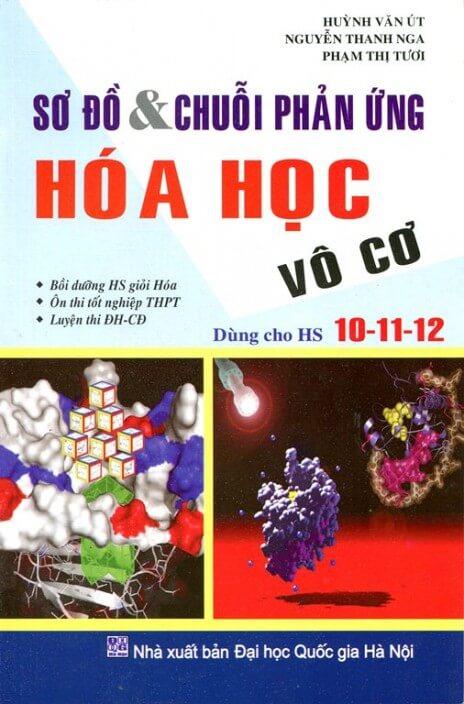 Sơ đồ và chuỗi phản ứng Hóa học Vô Cơ dùng cho Học sinh 10-11-12 - Huỳnh Văn Út