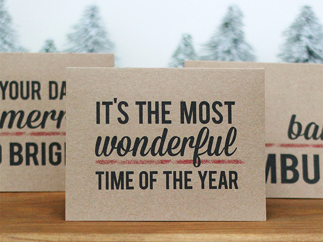 Handmade Holiday Cards