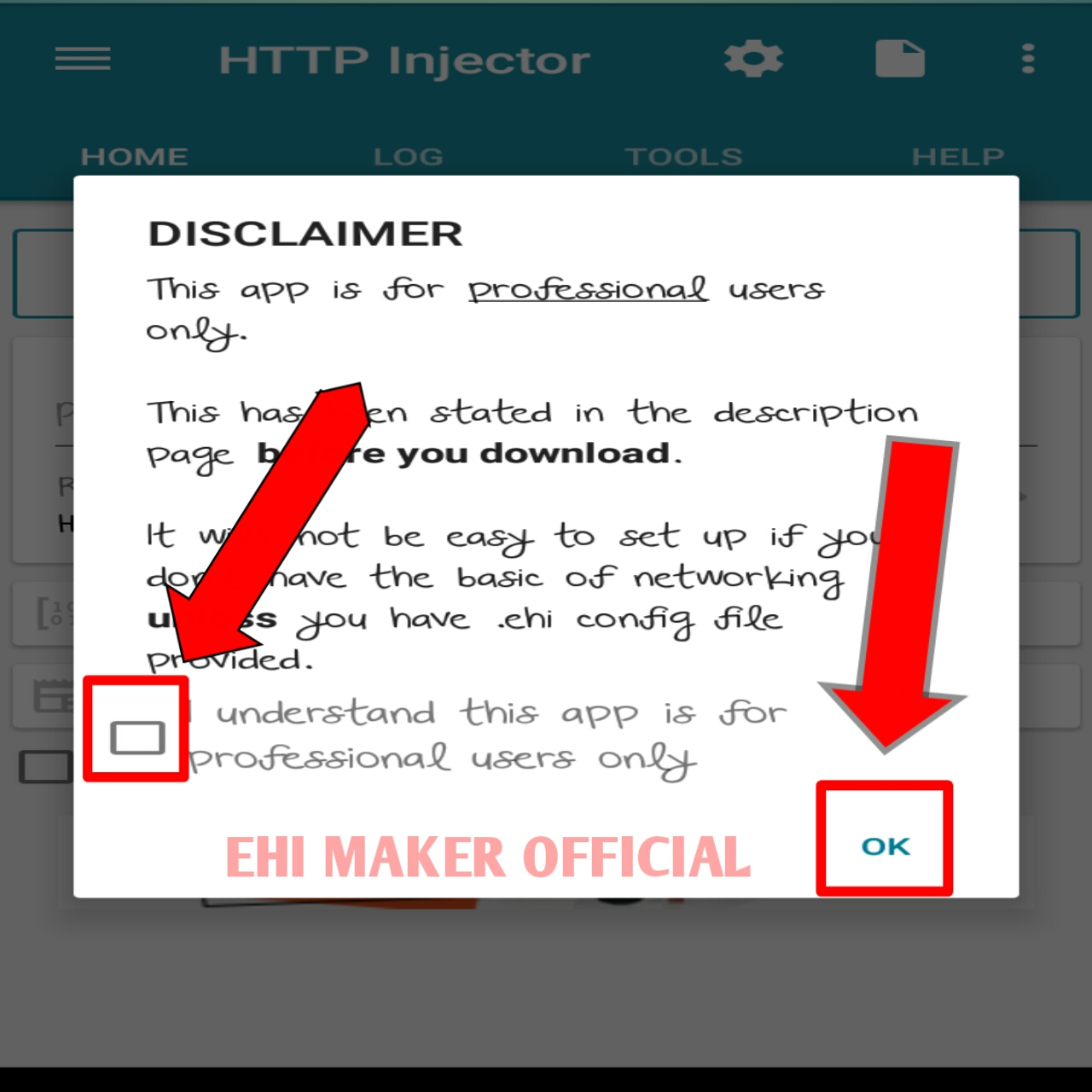 HOW TO USE HTTP INJECTOR TUTORIAL - EhiMakerOfficiaL
