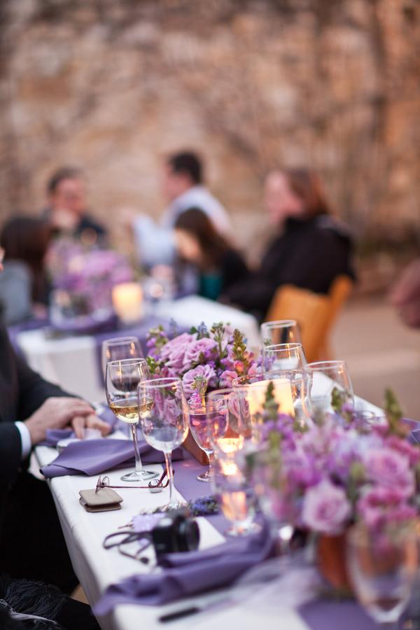 Bride+bridal+vineyard+winery+wine+purple+violet+Lavender+centerpieces+roses+dried+rustic+outdoor+spring+wedding+summer+wedding+fall+wedding+california+napa+valley+sonoma+white+floral+Mirelle+Carmichael+Photography+21 - Lavender Sprigs