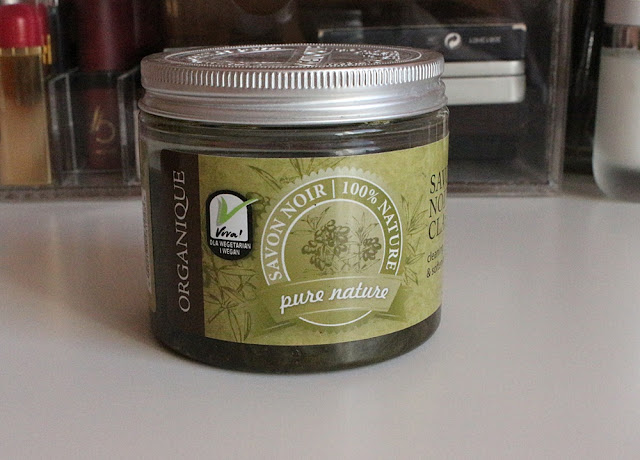Organique Savon Noir, Naturalne mydło z czarnych oliwek i oleju oliwnego