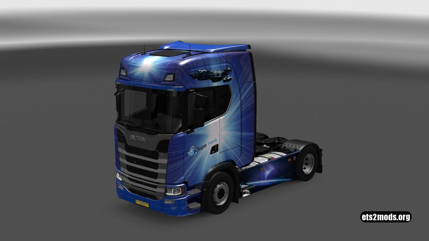 Supernova Skin for Scania S