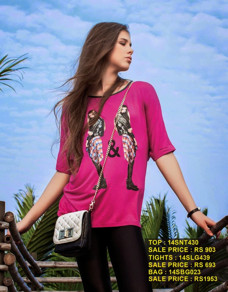 5f9e19ab9945 Summer Wear Tights And Tops For Western Girls By Breakout Form 2014 ...