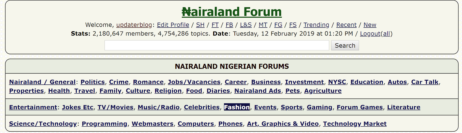 Post Articles and Links on Nairaland Forum
