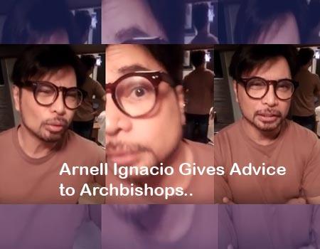 Arnell Ignacio advises archbishops