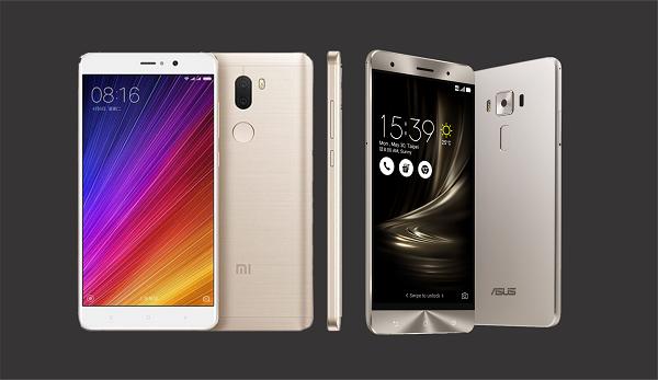 Perbandingan Asus Zenfone 3 Deluxe vs Xiaomi Mi 5s Plus, Mana Yang Lebih Bagus?