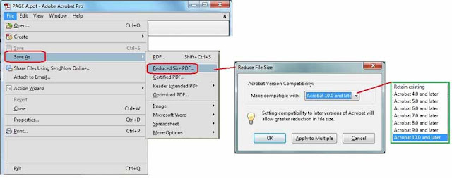 How to compress or reduce pdf size without quality loss easy tips select reduce size pdf option ccuart Images
