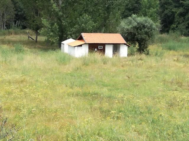 Casas de Banho ao abandono em Serpins
