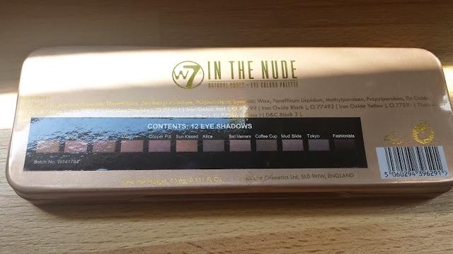Un maquillage avec la palette  w7 : dupe de la naked 3