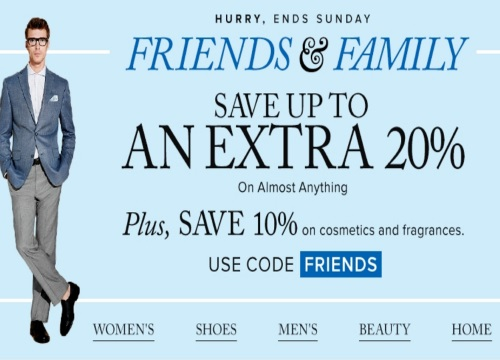 Hudson's Bay Friends & Family Save Up To 20% Off Promo Code