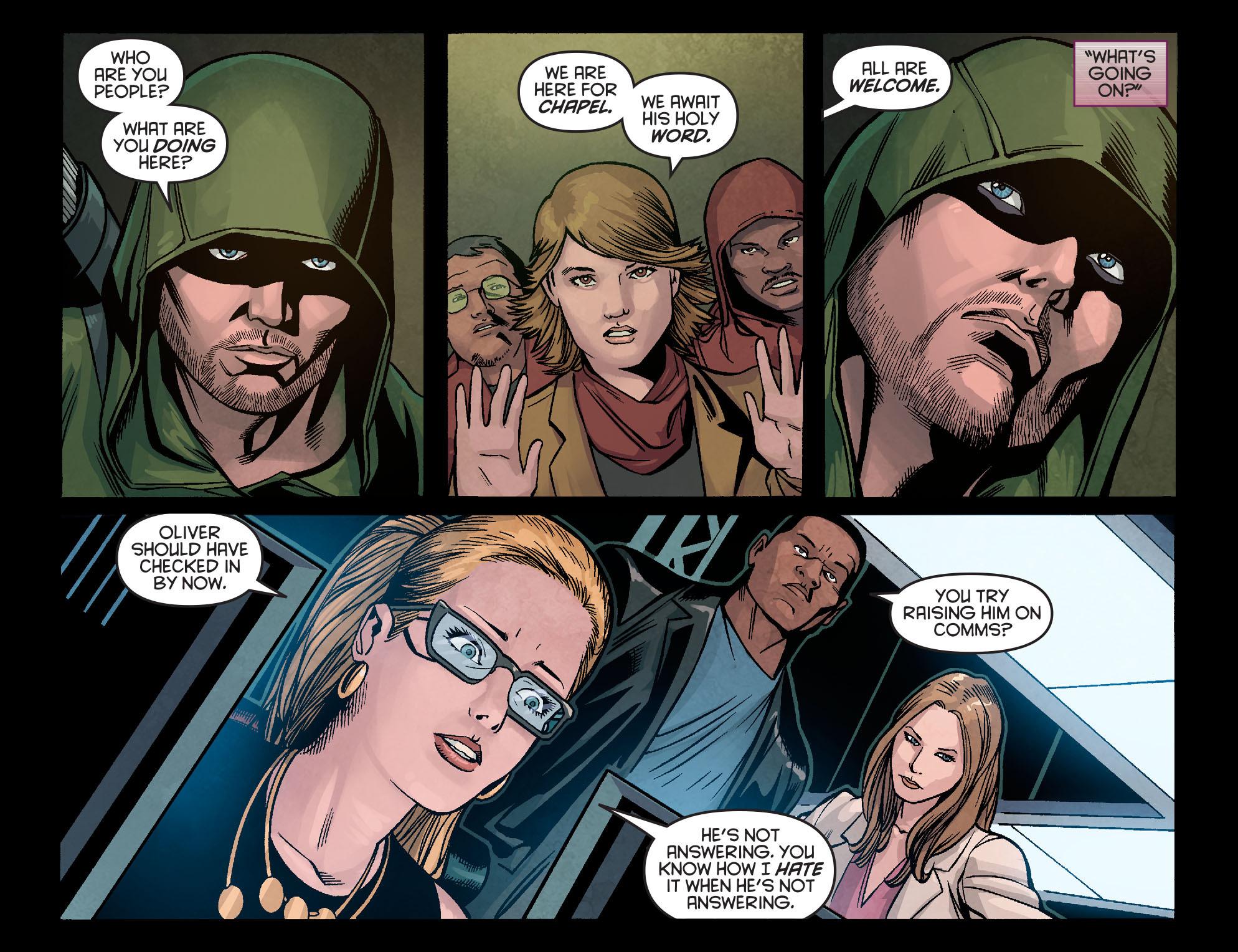 Read online Arrow: Season 2.5 [I] comic -  Issue #5 - 13