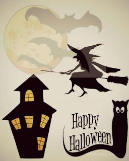 Cute halloween card messages