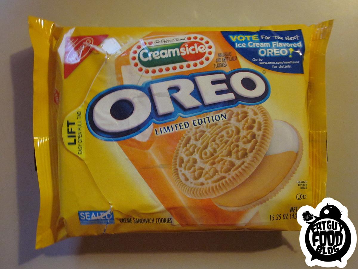FATGUYFOODBLOG: Limited Edition Creamsicle Oreos!!