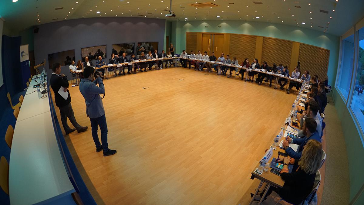 Πραγματοποιήθηκε η πολιτική ακαδημία της ΟΝΝΕΔ και του Ιδρύματος konrad adenauer